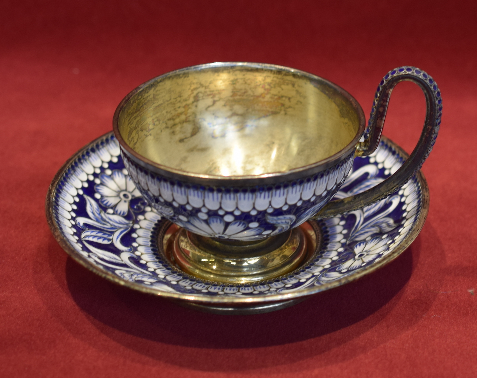 Faberge Cup and Saucer