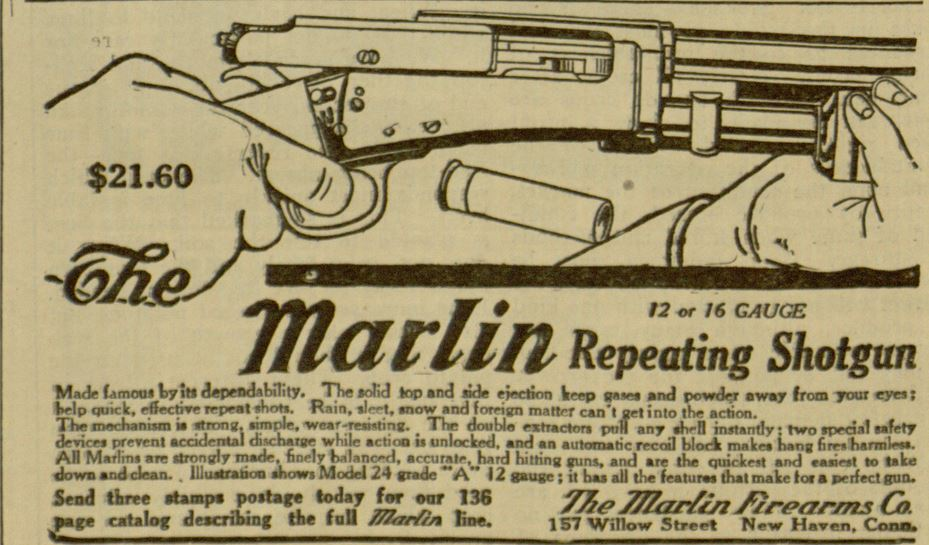 Advertising Recreational Repeating Shotgun.JPG