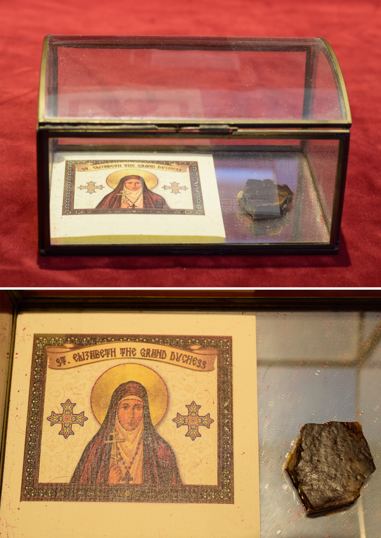 Relics of the Grand Duchess Elizabeth