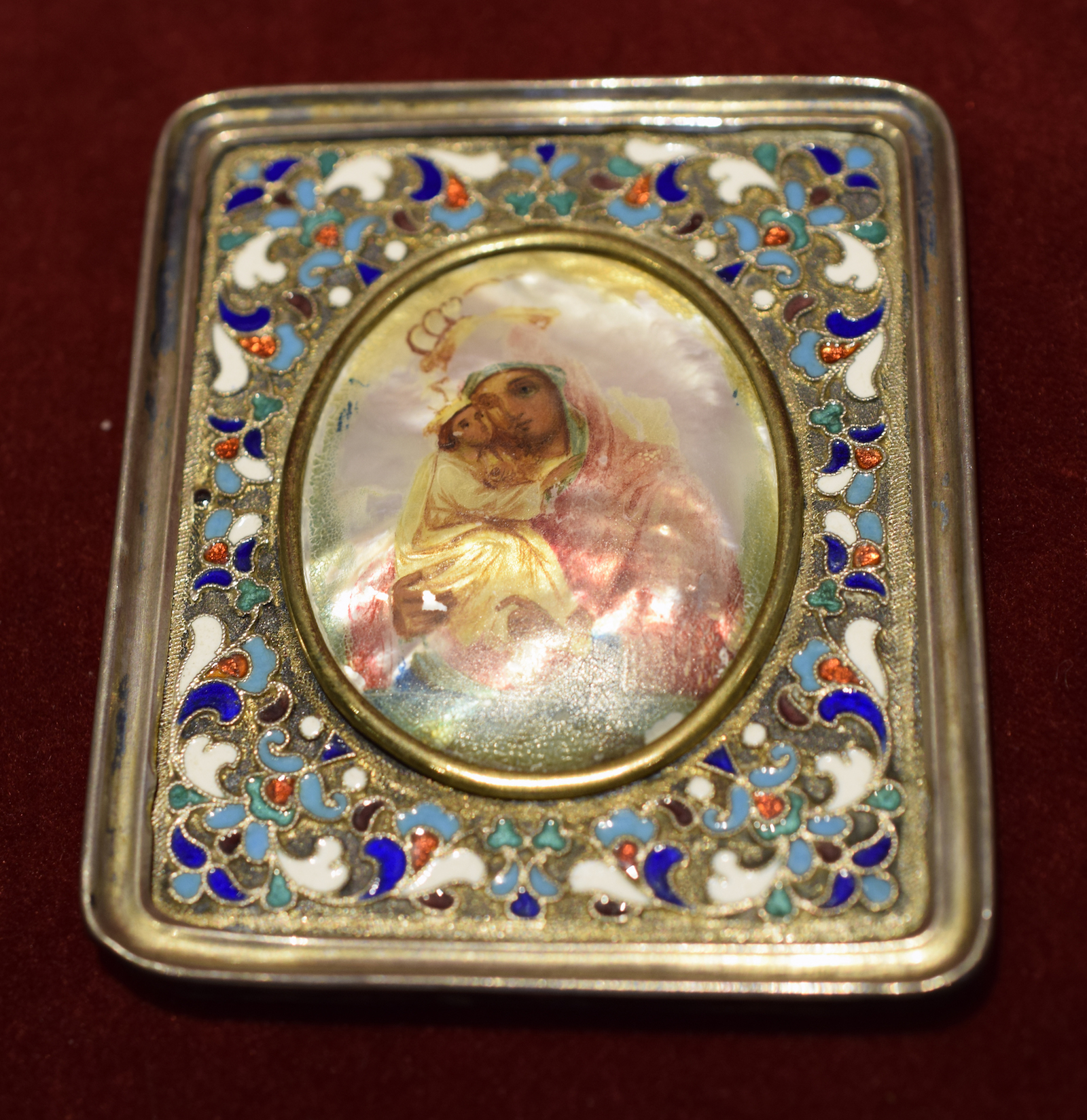 Fabergé Icon of the Mother of God