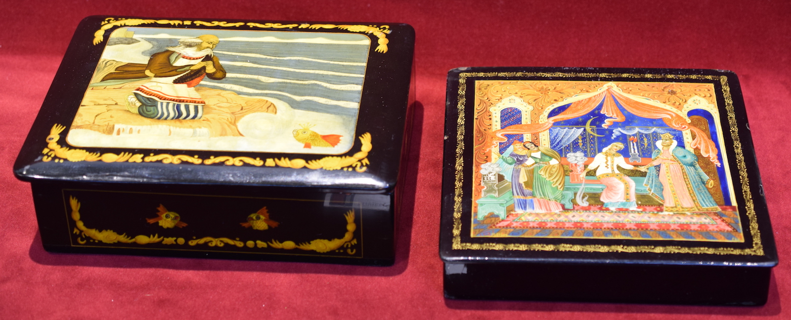 Soviet Lacquer Boxes