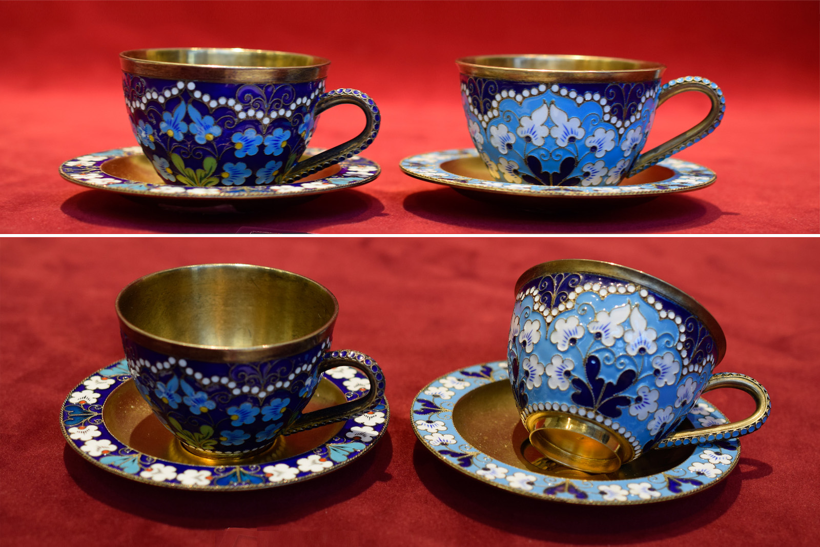Soviet Cups and Saucers