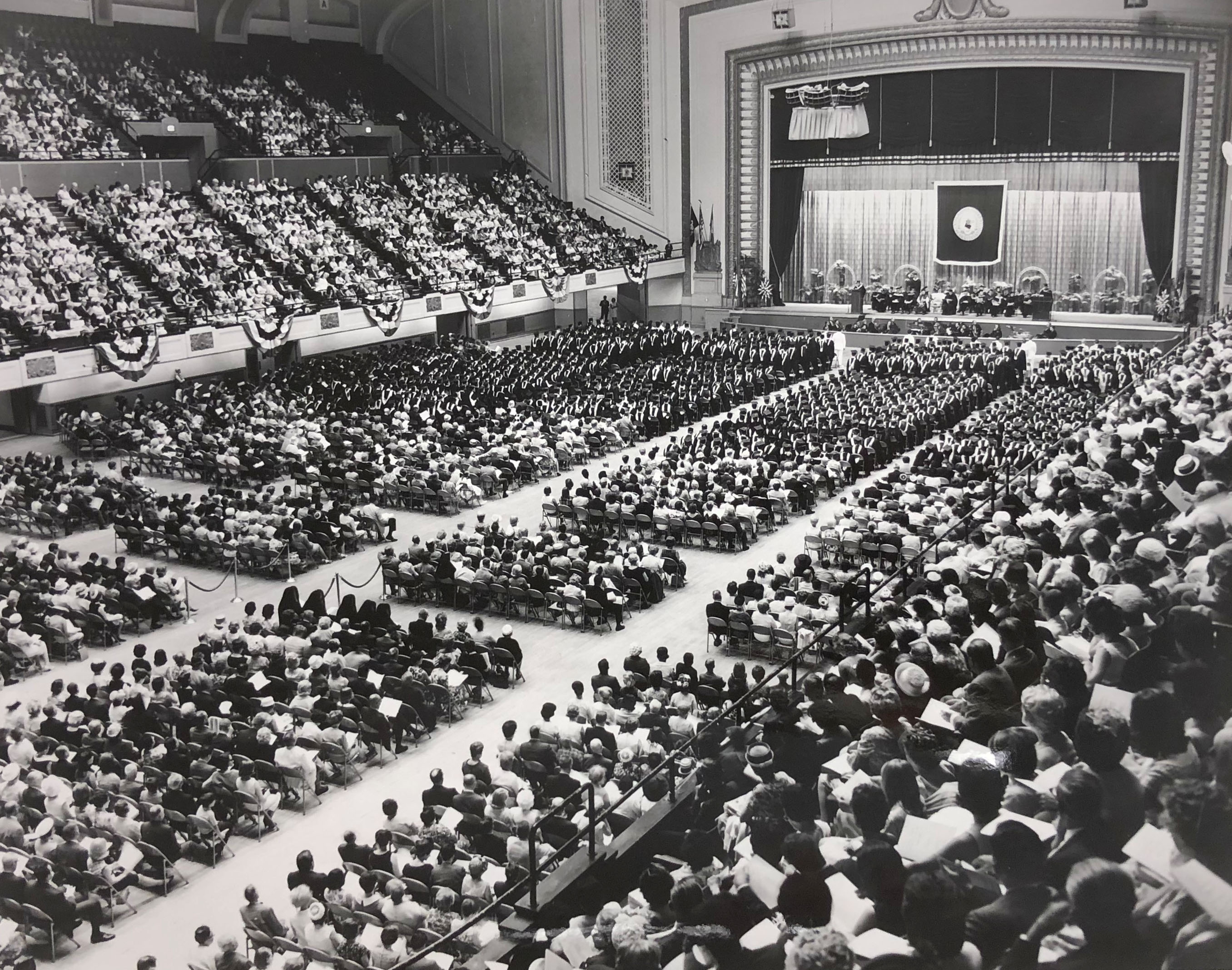 Commencement, 1969 (VUA 35/22/8 Villanova Photograph Collection)