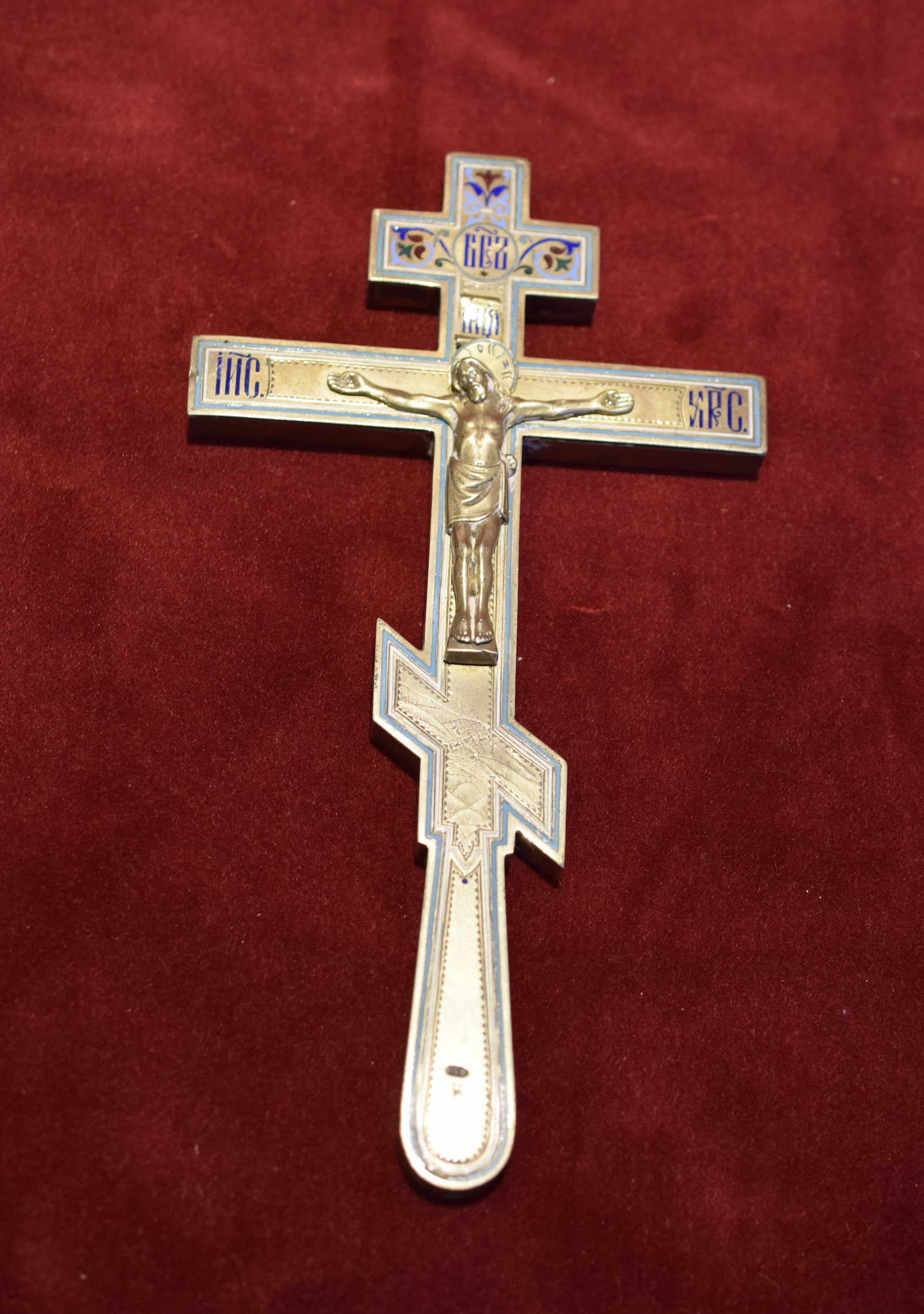 Faberge Hand Blessing Cross