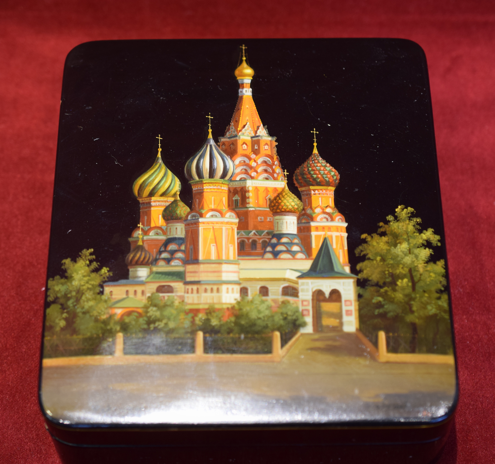 St. Basil's Cathedral Lacquered Box