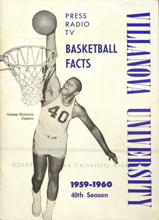 Basketball Brochure, 1959-60. (Courtesy of the University Archives)