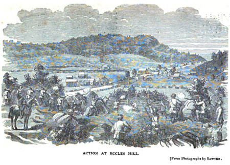 Action at Eccles Hill