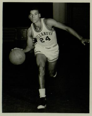 George Leftwich, Varisty Basketball, 1963 (VUA 35/26/vf Villanova Photograph Collection)