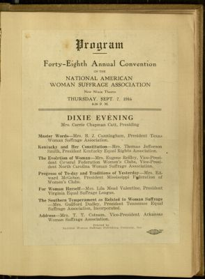 NAWSA Convention, 1916.