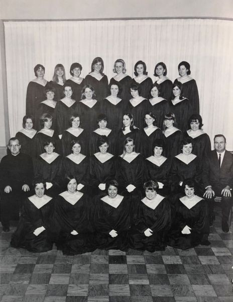 Women's Glee Club (Belle Air Yearbook, 1967)