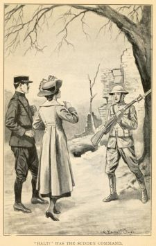 The Outdoor Girls in Army Service;<br/>Or, Doing Their Bit for the Soldier Boys<br/>by Laura Lee Hope<br/><small>Image courtesy of Internet Archive,<br/>https://archive.org/details/outdoorgirlsinar00hope</small>