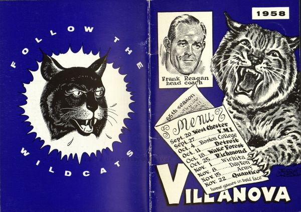 Football Brochure, 1958. (Courtesy of the University Archives)