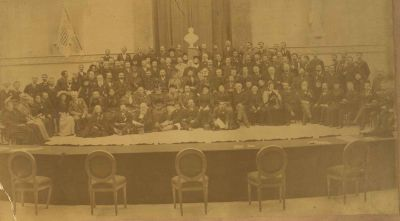 3rd International Peace Congress, 1891, Rome<br/><small>Universal Peace Union Records, Swarthmore College Peace Collection</small>