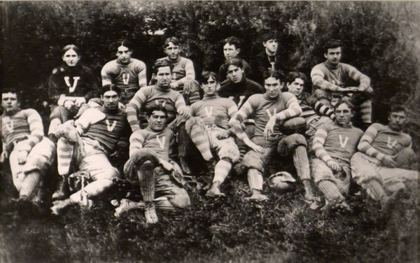 Football Team, 1896. (Courtesy of the University Archives)