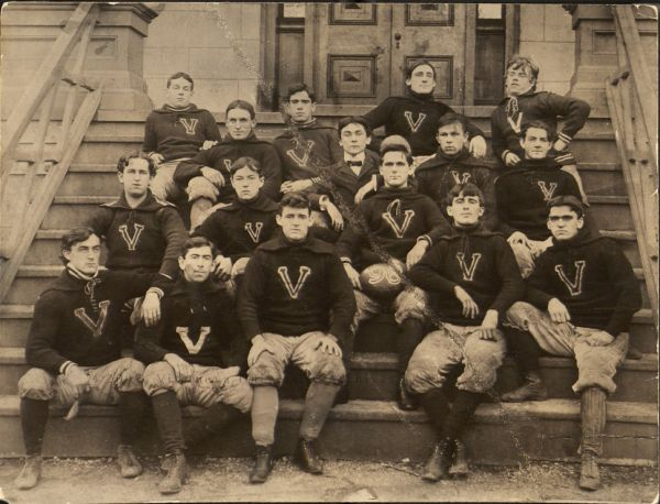 Varsity Football Team, 1896. (Courtesy of the University Archives)