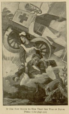 The Red Cross Girls in the British<br/>Trenches by Margaret Vandercook<br/><small>Image courtesy of Digital Library@Villanova University,<br/>https://digital.library.villanova.edu/Item/vudl:359887</small>