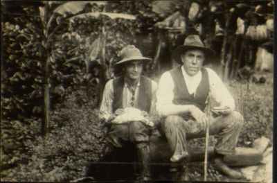 "Photograph of Joseph McGarrity <br/>prospecting for emeralds in Colombia, 1927.  <a href=""http://digital.library.villanova.edu/Joseph%20McGarrity%20Collection/Joseph%20McGarrity%20Photographs%20and%20Realia/JosephMcGarrityPhotographsandRealia-00018.xml"">[Digital Library]</a>"