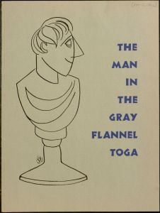 Program from the Turf and Tinsel Society production (VUA 25 Student Clubs and Organizations Records, Villanova University Archives)