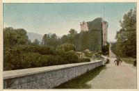 Ross Castle, Killarney from Pictures in Colour of the Lakes of Killarney and South of Ireland (1900?) by William Lawrence.