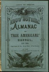 Cover of Know Nothing Almanac
