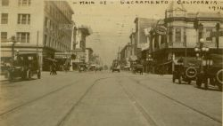 Main St., Sacramento, California, 1914.