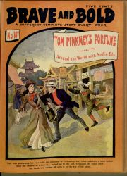 Tom Pinkney's Fortunes; Or, Around the World With Nellie Bly.