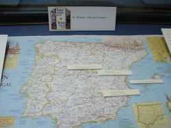 Saint Thomas Biographical Map of Spain 1