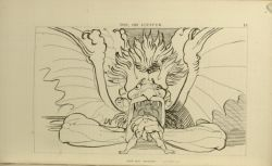 "Flaxman_Lucifer.jpg<br/><span style=""font-size: 70%;"">John Flaxman. Lucifer. 'Now Dis behold' Inf. XXIV. 20. Source: Dante Alighieri, Ichabod Charles Wright, and John Flaxman. The Divine Comedy. 5th ed. London: Bell & Daldy, 1867. Special Collections. Falvey Memorial Library.</span>"