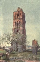 The Tall Tower of the Forty Martyrs at Ramleh.
