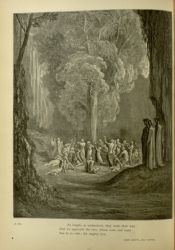 "Dor_punishment_of_gluttons_in_purgatorio.jpg<br/><span style=""font-size: 70%;"">Gustave Doré. Penance of the Gluttons. 'At length, as undeceived, they went their way;/ And we approach the tree, whom vows and tears/ Sue to in vain; the mighty tree.' Purg. XXIV. 112-114. Source: Dante Alighieri, Henry Francis Cary, and Gustave Doré. Purgatory and Paradise. new ed. New York: Cassell & company, limited, 1883.</span>"
