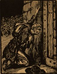 The Bard on the Bodach by Jack B. Yeats in Ranns & Ballads b
