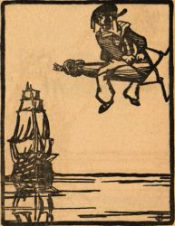 Illustration from The Bosun and the Bob-tailed Comet by Jack B.