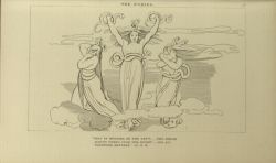 "Flaxman_The_Furies.jpg<br/><span style=""font-size: 70%;"">John Flaxman. The Furies. 'This is Megaera on the left: the dread/ Alecto weeps upon the right/ and lo! Tisiphone between.' Inf. IX. 46. Source: Dante Alighieri, Ichabod Charles Wright, and John Flaxman. The Divine Comedy. 5th ed. London: Bell & Daldy, 1867. Special Collections. Falvey Memorial Library.</span>"