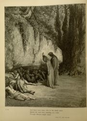 "Dor_Late_penitents.jpg<br/><span style=""font-size: 70%;"">Gustave Doré. The Late Penitent. 'And there were some, who in the shady place/ Behind the rock were standing, as a man/ Through idleness might stand.' Purg. IV. 100-102. Source: Dante Alighieri, Henry Francis Cary, and Gustave Doré. Purgatory and Paradise. new ed. New York: Cassell & company, limited, 1883.</span>"