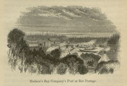 Hudson's Bay Company's Post at Rat Portage