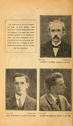 Signers of the Proclamation of the Irish Republic, in Sinn Fein Rebellion Handbook, Easter, 1916, 1917, pg 2.