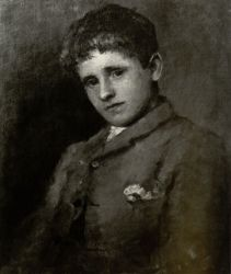 Jack B. Yeats as a Boy by John Butler Yeats. National Gallery of