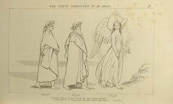 "Flaxman_The_poets_guided_by_an_angel.jpg<br/><span style=""font-size: 70%;"">John Flaxman. The Poets Guided by an Angel: 'Enter' with joyful voice, he said, 'this height/ presents a stair far easier than the rest'. Purg. XV. 35. Source: Dante Alighieri, Ichabod Charles Wright, and John Flaxman. The Divine Comedy. 5th ed. London: Bell & Daldy, 1867. Falvey Memorial Library. Special Collections.</span>"