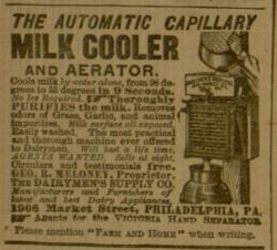 Milk Cooler & Aerator
