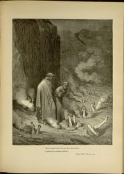 "Dor_NicholasIII.jpg<br/><span style=""font-size: 70%;"">Gustave Doré. Pope Nicholas. 'There stood I like the friar that doth shrive/ A wretch for murder doom'd' Inf. XIX. 51-52. Source: Dante Alighieri, Henry Francis Cary, and Gustave Doré. Inferno. New Edition. New York. P.F. Collier, limited, 1883. Falvey Memorial Library. Special Collections.</span>"