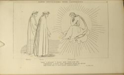 "Flaxman_Cacciaguida.jpg<br/><span style=""font-size: 70%;"">John Flaxman. Dante Discoursing with Cacciaguida. 'Sire, I began, I mark how time for me/ prepares a blow that heaviest falls on those/ who look for it with most despondency.' Par. XVII. 106. Source: Dante Alighieri, Ichabod Charles Wright, and John Flaxman. The Divine Comedy. 5th ed. London: Bell & Daldy, 1867. Falvey Memorial Library. Special Collections.</span>"