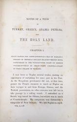 Notes of a tour through Turkey, Greece, Egypt, Arabia Petræa, to the Holy Land by Edward Morris.