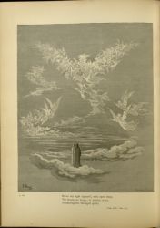 "Dor_eagle.jpg<br/><span style=""font-size: 70%;"">Gustave Doré. The Eagle: Heaven of the Just. 'Before my sight appear'd, with open wings,/ The beauteous image; in fruition sweet,/ Gladdening the thronged spirits.' Par. XIX. 1-3. Source: Dante Alighieri, Henry Francis Cary, and Gustave Doré. Purgatory and Paradise. new ed. New York: Cassell & company, limited, 1883.</span>"