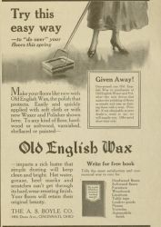 Old English Wax