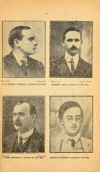 Signers of the Proclamation of the Irish Republic, in Sinn Fein Rebellion Handbook, Easter, 1916, 1917, pg 3.