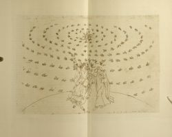 "Botticelli_Heaven_of_the_fixed_stars.jpg<br/><span style=""font-size: 70%;"">Sandro Botticelli. Heaven of the Fixed Stars. Par. XXVI. Source: Dante Alighieri, Sandro Botticelli, Mario Casela, Henry Francis Cary. La Divina Commedia or Divine Vision of Dante Alighieri. New York. Nonesuch Press, limited, 1928. Falvey Memorial Library. Special Collections.</span>"
