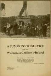 A Summons to Service From the Women and Children of Ireland,1920.
