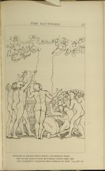 "Flaxman_the_gluttons.jpg<br/><span style=""font-size: 70%;"">John Flaxman. The Gluttons. 'Beneath it raised their hands a numerous brian,/ who to the leaves were muttering forth some cry,/ like clamorous children that entreat in vain.' Purg. XXIV. 106. Source: Dante Alighieri, Ichabod Charles Wright, and John Flaxman. The Divine Comedy. 5th ed. London: Bell & Daldy, 1867. Falvey Memorial Library. Special Collections.</span>"