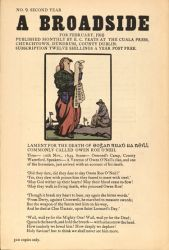 Lament For The Death of Owen Roe O'Neil, February 1910