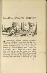 Page 1, Sailing, Sailing Swiftly by Jack B. Yeats